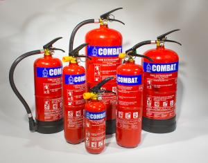 تجهیزات ایمنی آزمایشگاه کپسول آتش نشانی