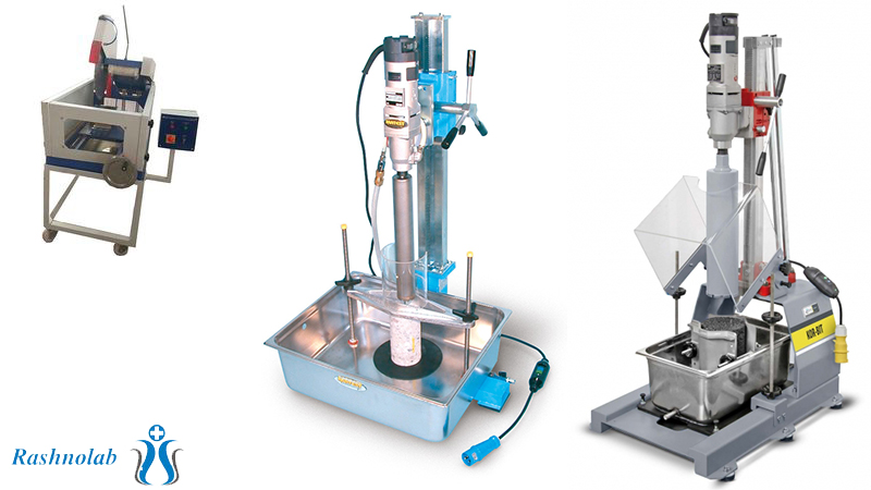 دستگاه آزمایشگاه سنگ، خاک و سرامیک